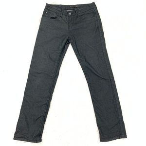 Prana Charcoal Low Rise Jeans 2